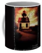 Haunted Lighthouse Coffee Mug by Edward Fielding