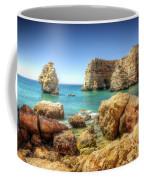 Hdr Rocky Coast Coffee Mug by Carlos Caetano