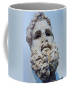 Head Of Zeus At The Acropolis Museum Coffee Mug by Richard Nowitz