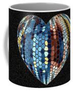 Heartline 4 Coffee Mug by Will Borden