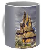 Heddal Stave Church  Coffee Mug by Heiko Koehrer-Wagner