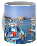 Heraklion - Venetian Fortress - Crete Coffee Mug by Joana Kruse