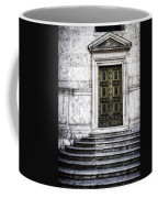 Hiding A Treasure Coffee Mug by Joan Carroll