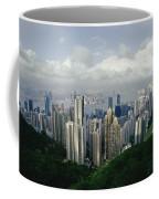 Hong Kong Island And The Bay Coffee Mug by Jason Edwards