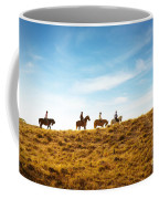 Horseback Riding Coffee Mug by Carlos Caetano