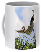 In The Rookery Coffee Mug by Patrick M Lynch