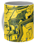 Integrated Circuit Coffee Mug by Carlos Caetano