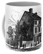 Jeffersons House, 1776 Coffee Mug by Granger