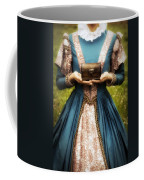 Lady With A Chest Coffee Mug by Joana Kruse