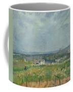 Landscape In Pontoise Coffee Mug by Camille Pissarro