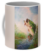 Largemouth Bass Coffee Mug by Jose Lugo