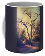 Let Us Sit Side By Side Coffee Mug by Laurie Search
