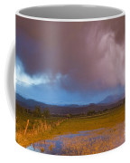 Lightning Striking Longs Peak Foothills 7 Coffee Mug by James BO  Insogna