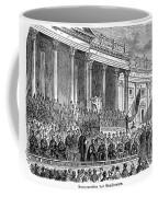 Lincolns Inauguration, 1861 Coffee Mug by Granger