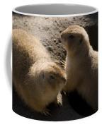 Little Dogs On The Prairie Coffee Mug by Trish Tritz