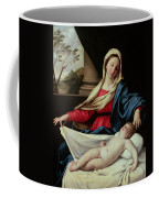 Madonna And Child  Coffee Mug by II Sassoferrato