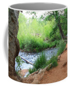 Magical Trees At Red Rock Crossing Coffee Mug by Carol Groenen
