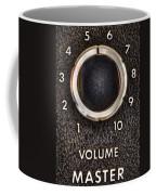 Master Volume Coffee Mug by Scott Norris