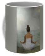 Meditation Coffee Mug by Joana Kruse