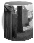Meeks Outhouse Coffee Mug by Teresa Mucha