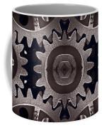 Mirror Gears Coffee Mug by Steve Gadomski