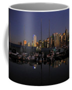 Moored For The Night Coffee Mug by Will Borden