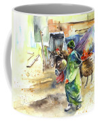 Morrocan Market 04 Coffee Mug by Miki De Goodaboom