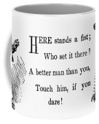 Mother Goose: Dare Coffee Mug by Granger