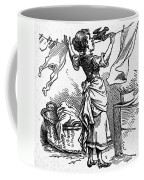 Mother Goose: Maid Coffee Mug by Granger