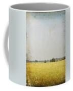 Nature Painting On Old Grunge Paper Coffee Mug by Setsiri Silapasuwanchai