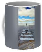 Never Ending Crosswalk Coffee Mug by Jill Battaglia