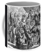 New Years Eve Ball, 1866 Coffee Mug by Granger