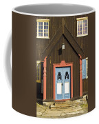 Norwegian Wooden Facade Coffee Mug by Heiko Koehrer-Wagner