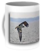 Osprey Grab Coffee Mug by Brian Wallace