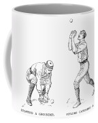 Outfielder, 1889 Coffee Mug by Granger