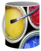 Paint Cans Coffee Mug by Carlos Caetano