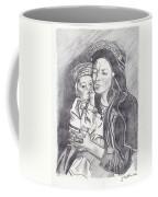 Pakistani Mother And Child Coffee Mug by John Keaton