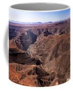 Panormaic View Of Canyonland Coffee Mug by Robert Bales