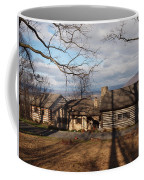 Papa Toms Cabin In The Woods Coffee Mug by Robert Margetts