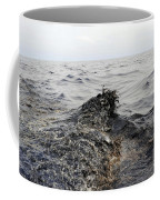 Part Of An Oil Slick In The Gulf Coffee Mug by Stocktrek Images