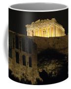 Parthenon Athens Coffee Mug by Bob Christopher