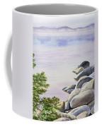Peaceful Place Morning At The Lake Coffee Mug by Irina Sztukowski