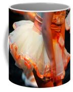 Peach Tutu Coffee Mug by Lauri Novak