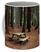 Picnic Table Coffee Mug by Carlos Caetano