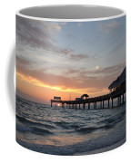 Pier 60 Clearwater Beach Florida Coffee Mug by Bill Cannon
