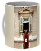 Pope Benedict Xvi A Coffee Mug by Andrew Fare
