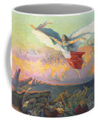 Poster For The National Loan Coffee Mug by Michel Richard-Putz