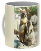 Prairie Dog Formal Portrait Coffee Mug by Susan Savad