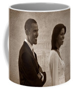 President Obama And First Lady S Coffee Mug by David Dehner