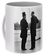 President Roosevelt And Gifford Pinchot Coffee Mug by Photo Researchers
